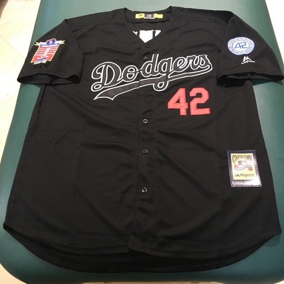 the latest f2c8a 87ed9 Jackie Robinson Brooklyn Dodgers MLB Jersey NWT